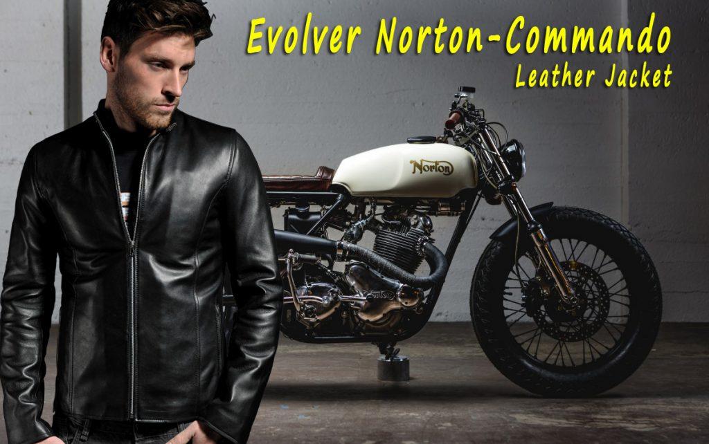 Evolver Norton-Commando Leather Jacket