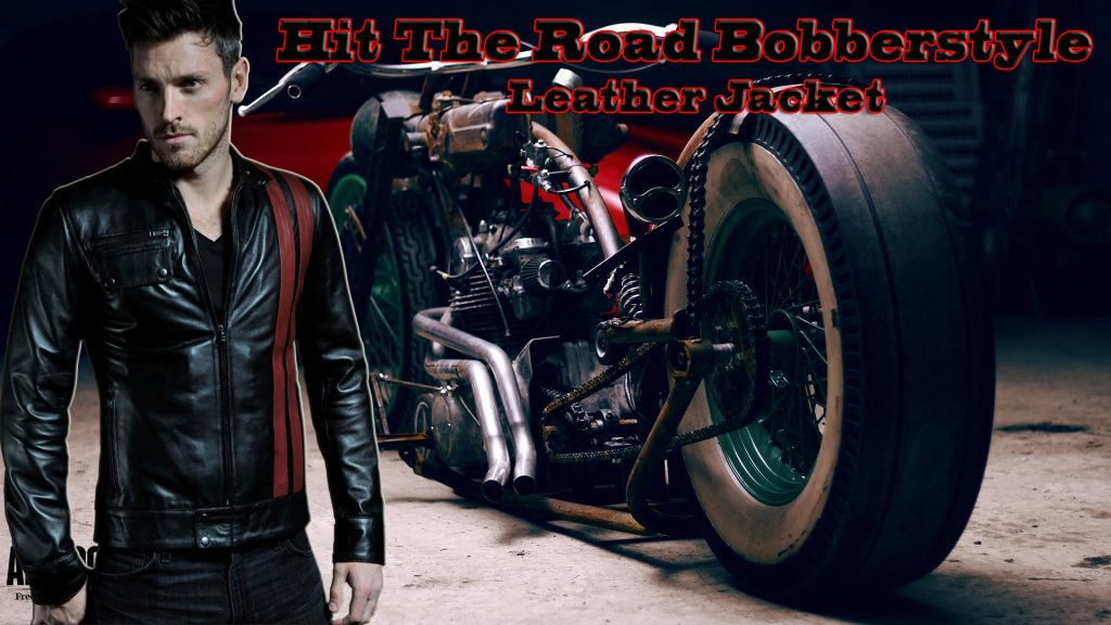 Hit the Road Bobberstyle Leather Jacket Wallpaper