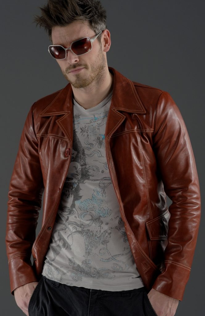 Jaket Kulit Fashion