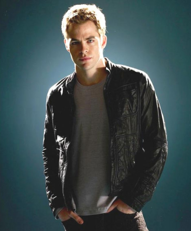 Jaket Kulit Kirk Star Trek Chris Pine