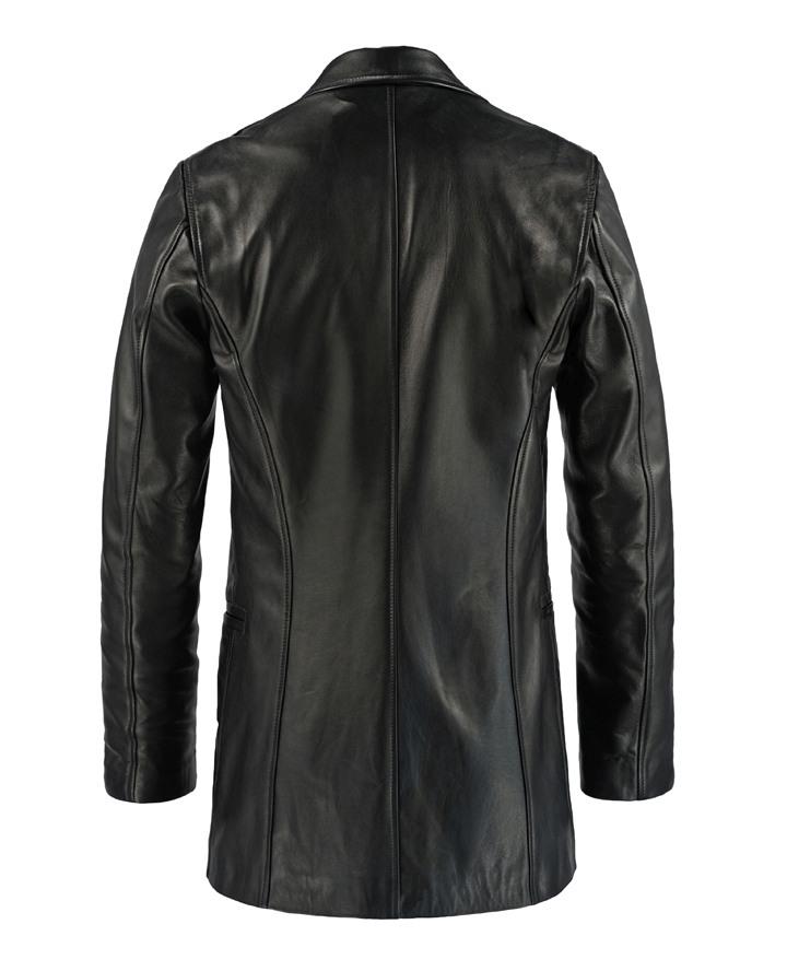 Jaket Kulit Max Payne Belakang