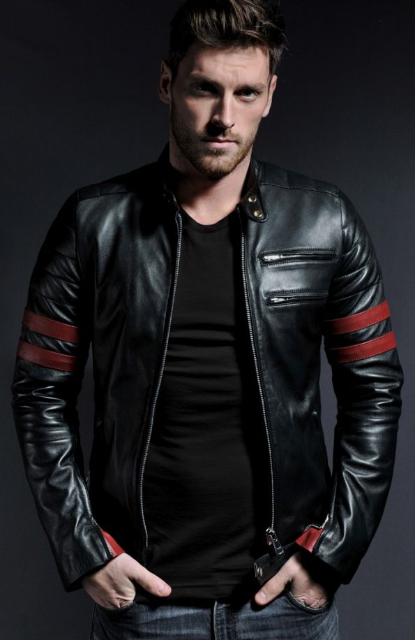 Jaket Kulit The Ultimate Bomberleather Supremacy Triumph Red