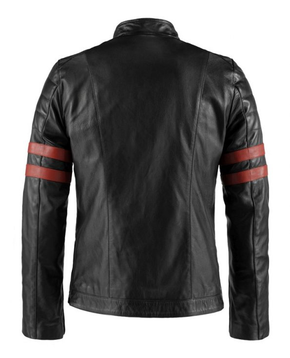 Jaket Kulit The Ultimate Bomberleather Supremacy Triumph Red Belakang