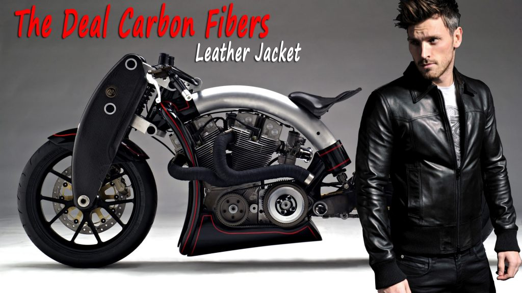 The Deal Carbon Fibers Leather Jacket