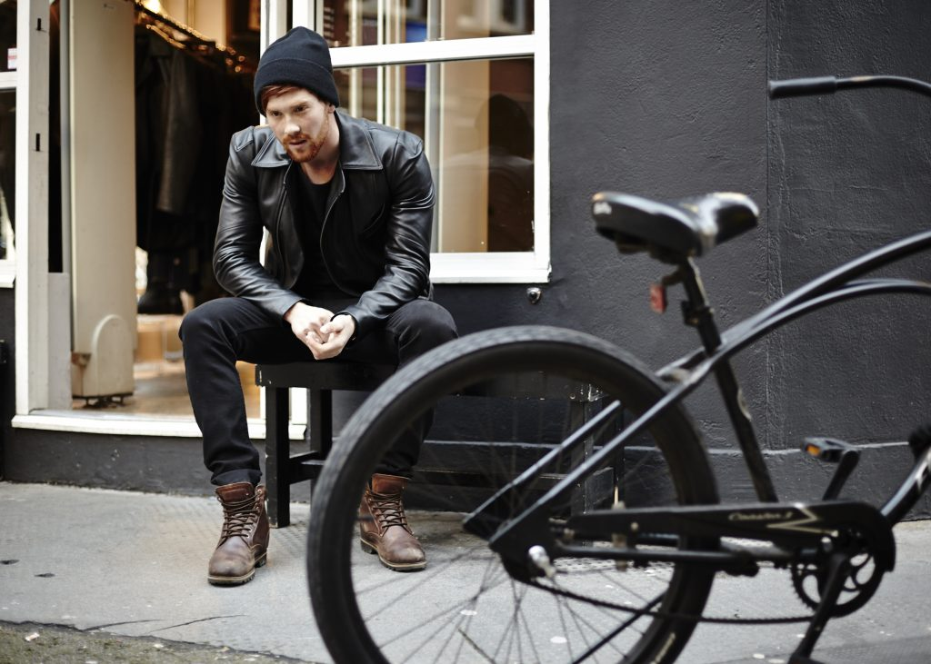 Tom Brady Rockabillystyle Leather Jacket Depan