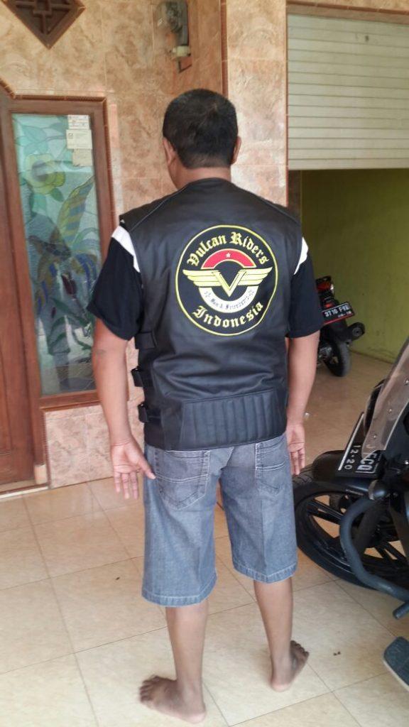 Rompi Kulit Club Motor
