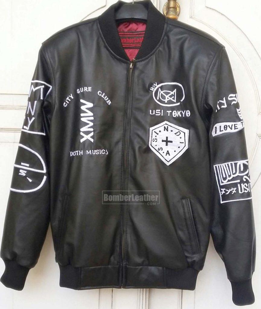 Jaket Kulit Custom Pangkal Pinang Bordir