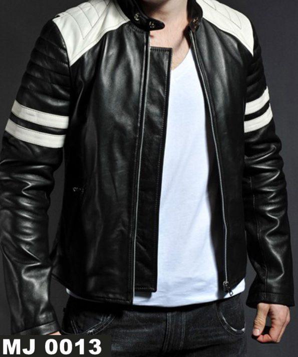 Jaket Garis Putih MJ 0013