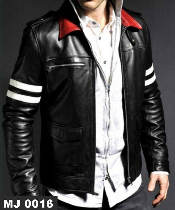 Jaket Kerah Merah MJ 0016