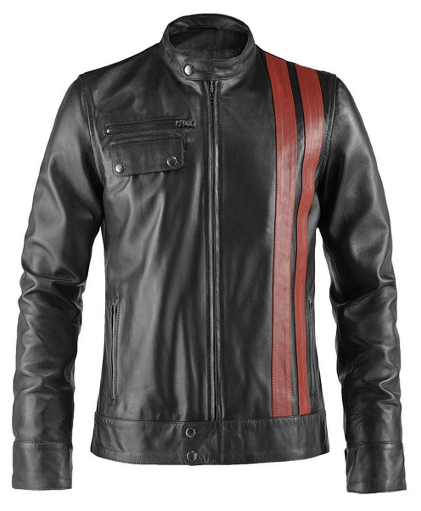 Hit the Road Bobberstyle Leather Jacket Depan