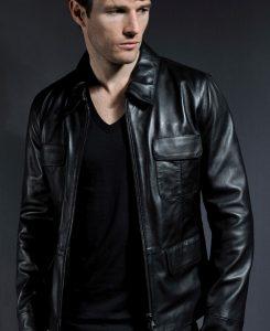 Jaket Kulit Damon Salvatore Vampire Diaries