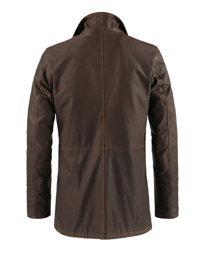 Jaket Kulit Dean Winchester Supernatural Belakang