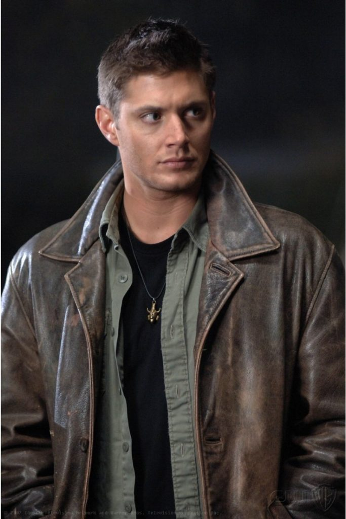 Jaket Kulit Dean Winchester Supernatural Television Series