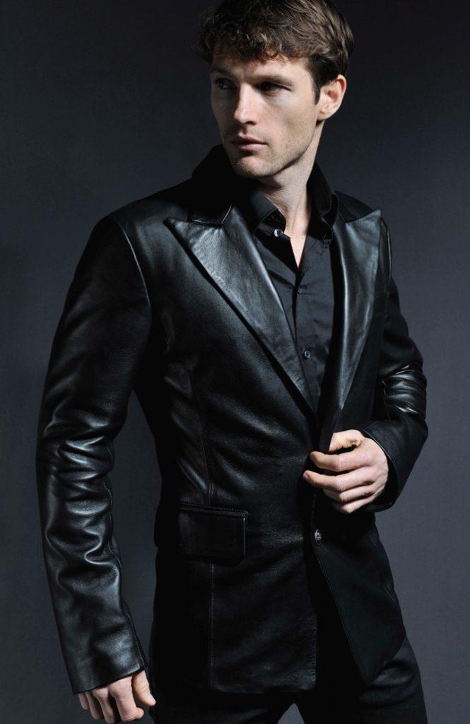Jaket Kulit Forsaken Gothic Blazer