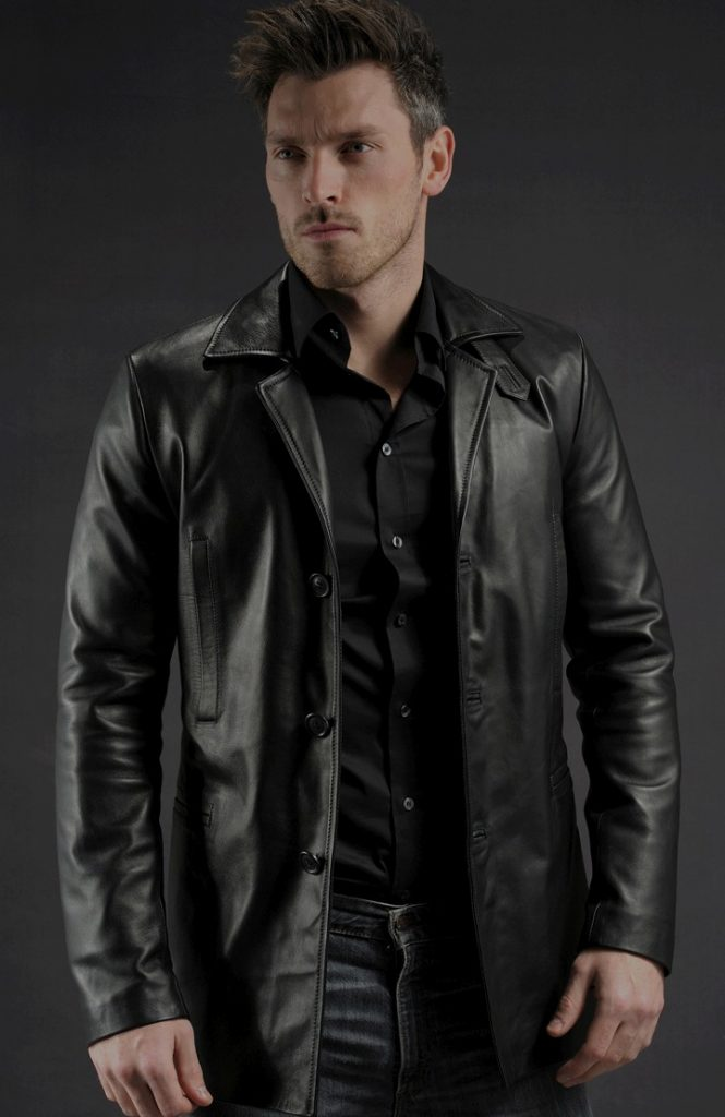 Jaket Kulit Max Payne