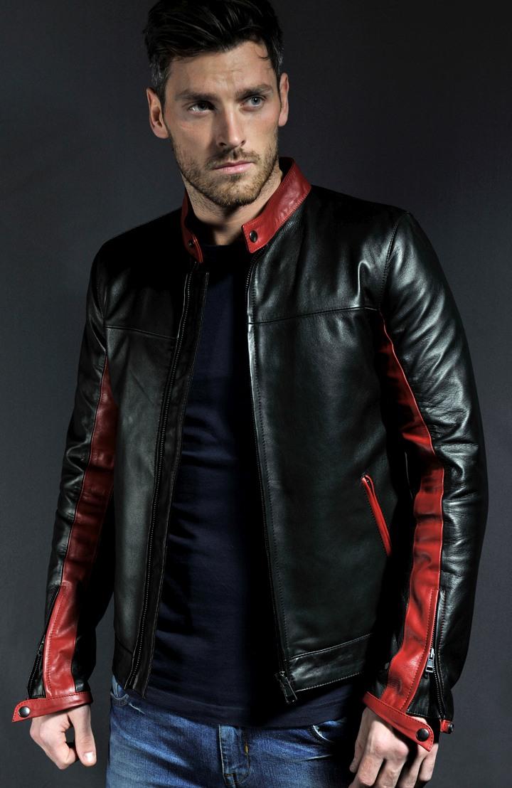 Jaket Yamha Hitam Merah