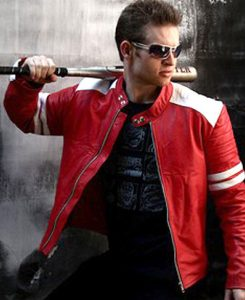 Jaket Kulit Tyler Durden Fight Club Red