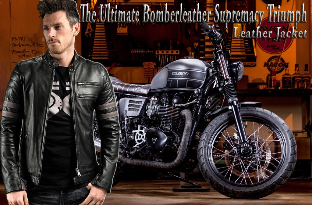 The Ultimate Bomberleather Supremacy Triumph Leather Jacket