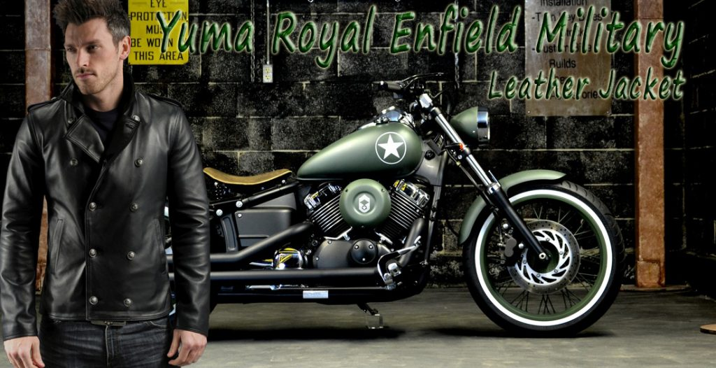 Yuma Royal Enfield Military Leather Jacket
