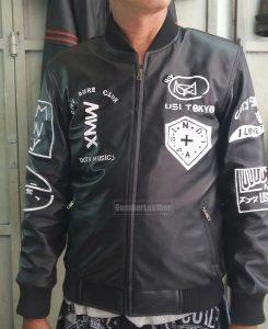Jual Jaket Kulit Boy Anak Jalanan