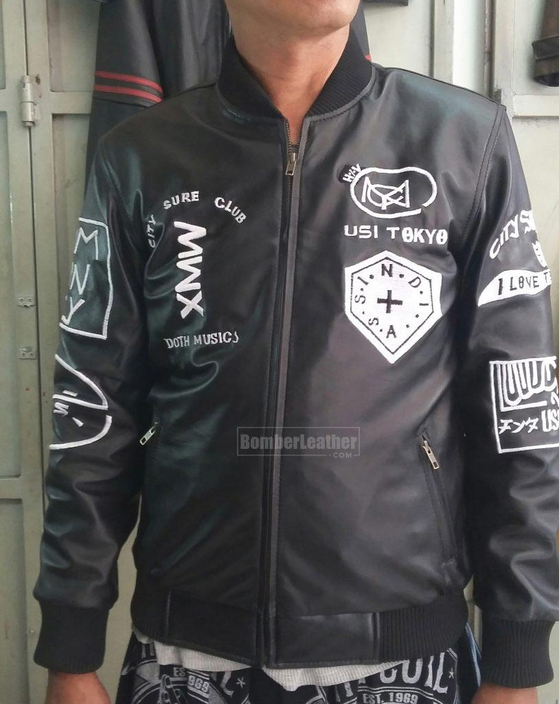 Jaket Kulit Custom