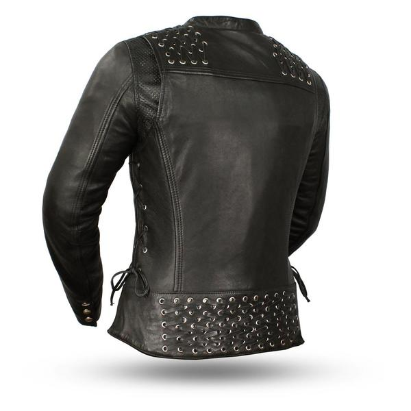 Biker Punk Rockabella Back