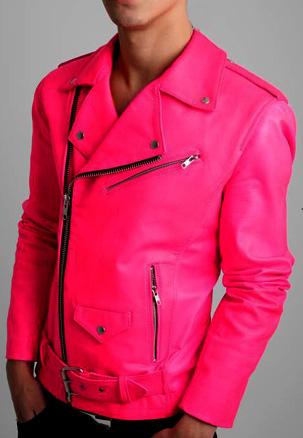 Jual Jaket Kulit Pink banyuwangi