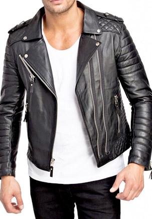 jaket kulit gaul anak muda motor