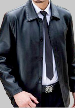 jaket kulit kantoran