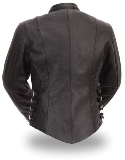 Pabrik jaket kulit wanita modern Jawa Tengah