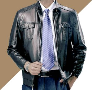 Jaket Kulit Formal Big Size
