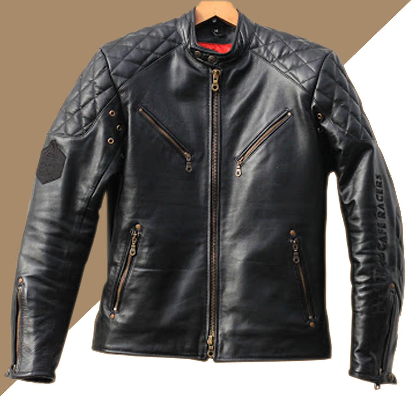 Jaket Kulit Motor Custom