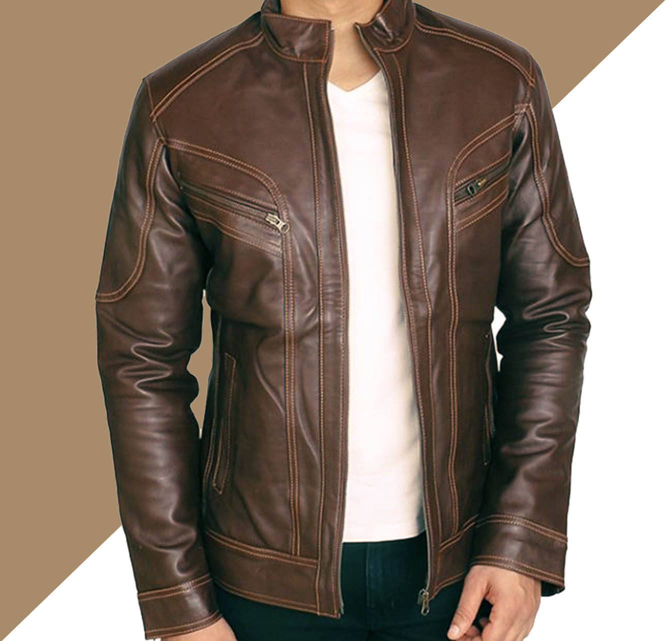6 Style Jaket Kulit Pria dan Wanita Yang Sedang Trend