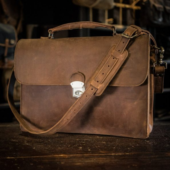 Tas Kulit Laptop Briefcase