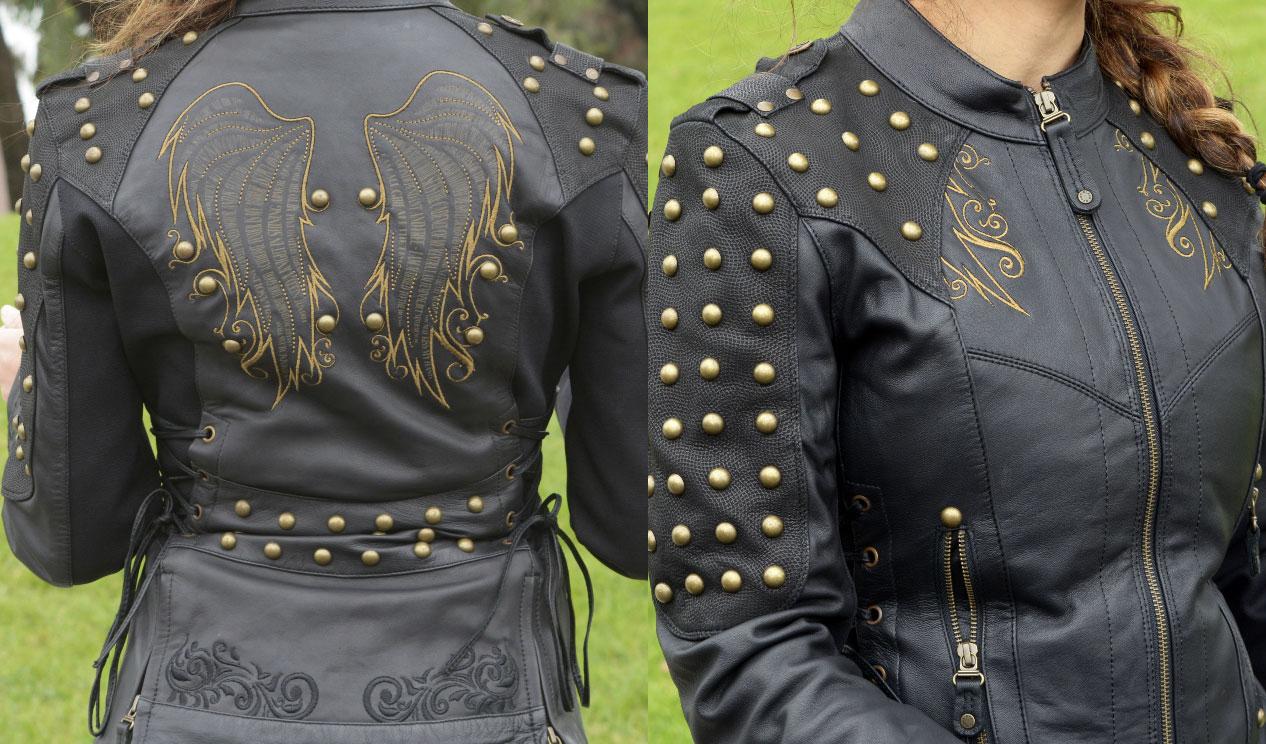 order jaket kulit wanita model terbaru