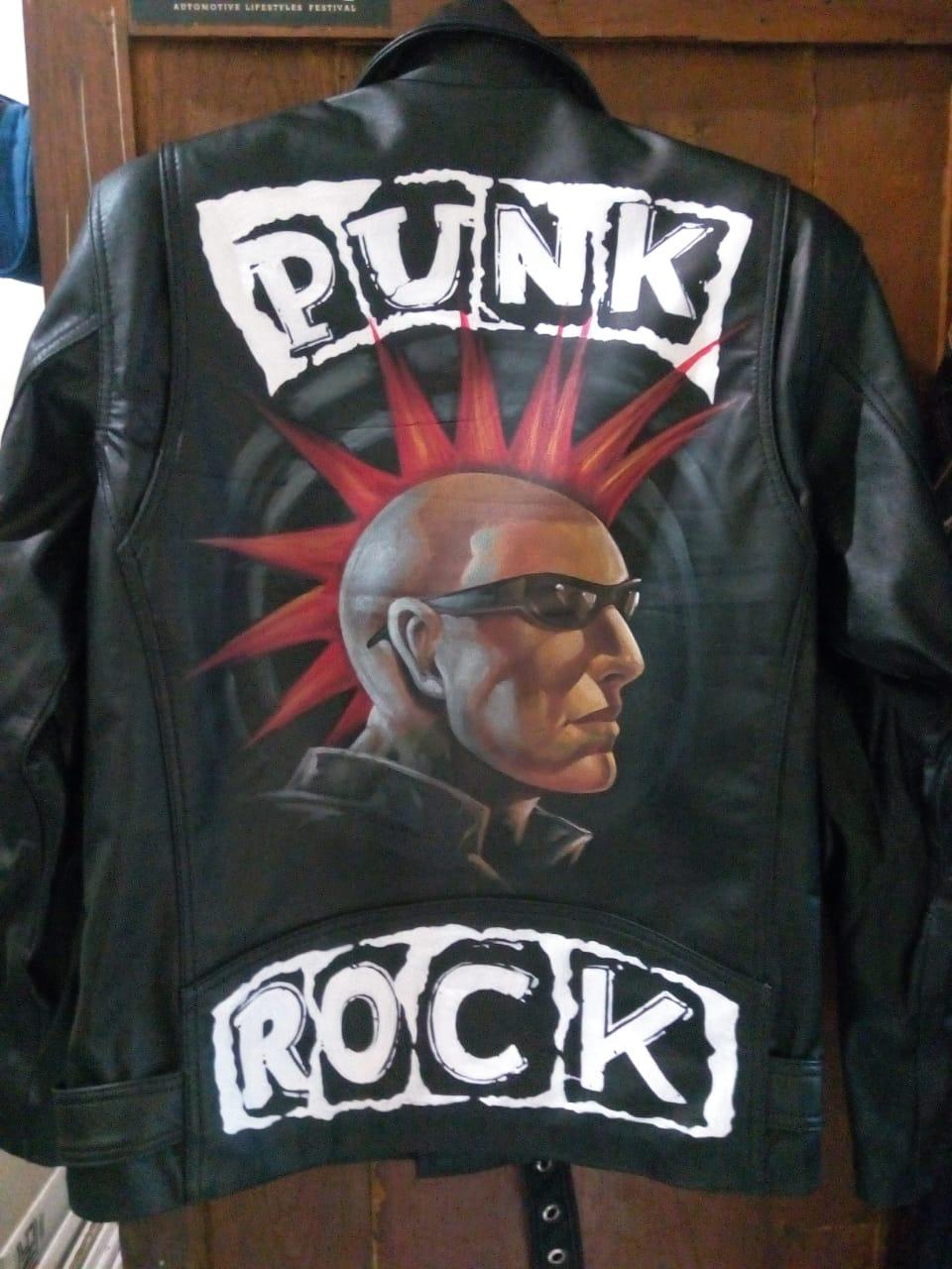 Harga Jaket Kulit Ramones dan Rock n Roll Versi Premium