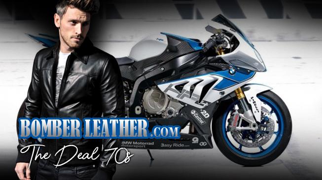 pesan jaket kulit rompi kulit, celana kulit & chaps, tas kulit & saddle bag motor bmw